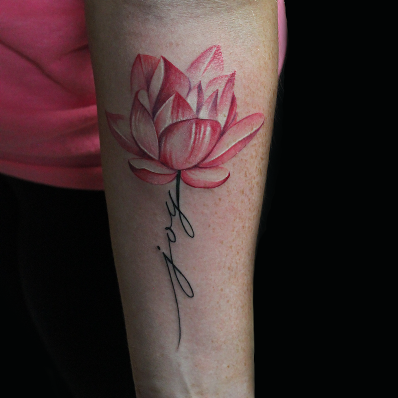 Cap1 Tattoos : Tattoos : Capone : Joy Lotus Flower