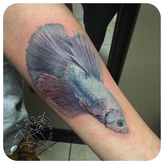Lucky Bamboo Tattoo Tattoos Christina Walker Betta Fish