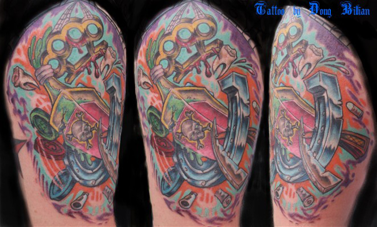 Koi Fish Tattoos Picture 7