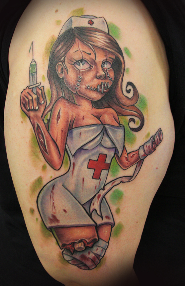 Nurse Tattoo. - bcsportbikes.com