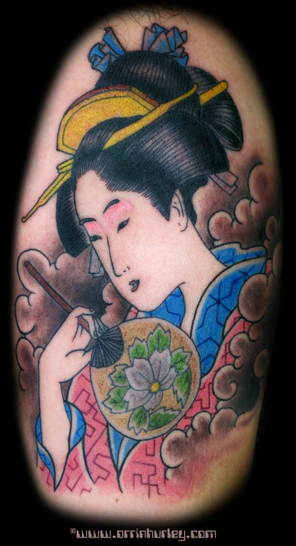 Comments: Japanese tattoos are some of my favorite tattoos to do.