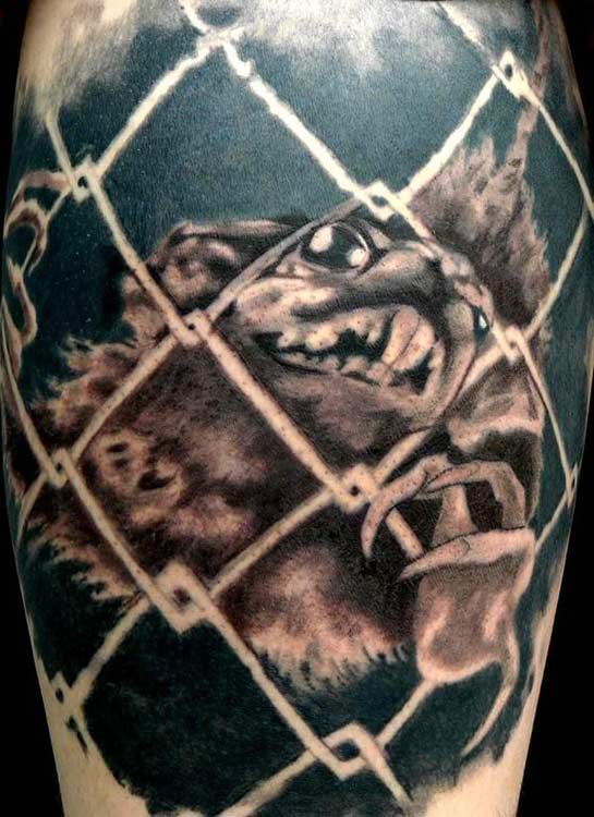 Keyword Galleries: Black and Gray Tattoos, Custom Tattoos, Nature Animal