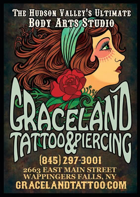 Graceland Tattoo Poster
