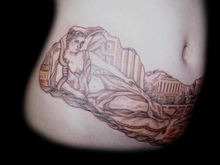 goddess tattoos
