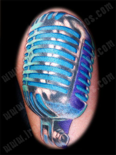 Old School Microphone Artist Tony Otto View Artists Gallery