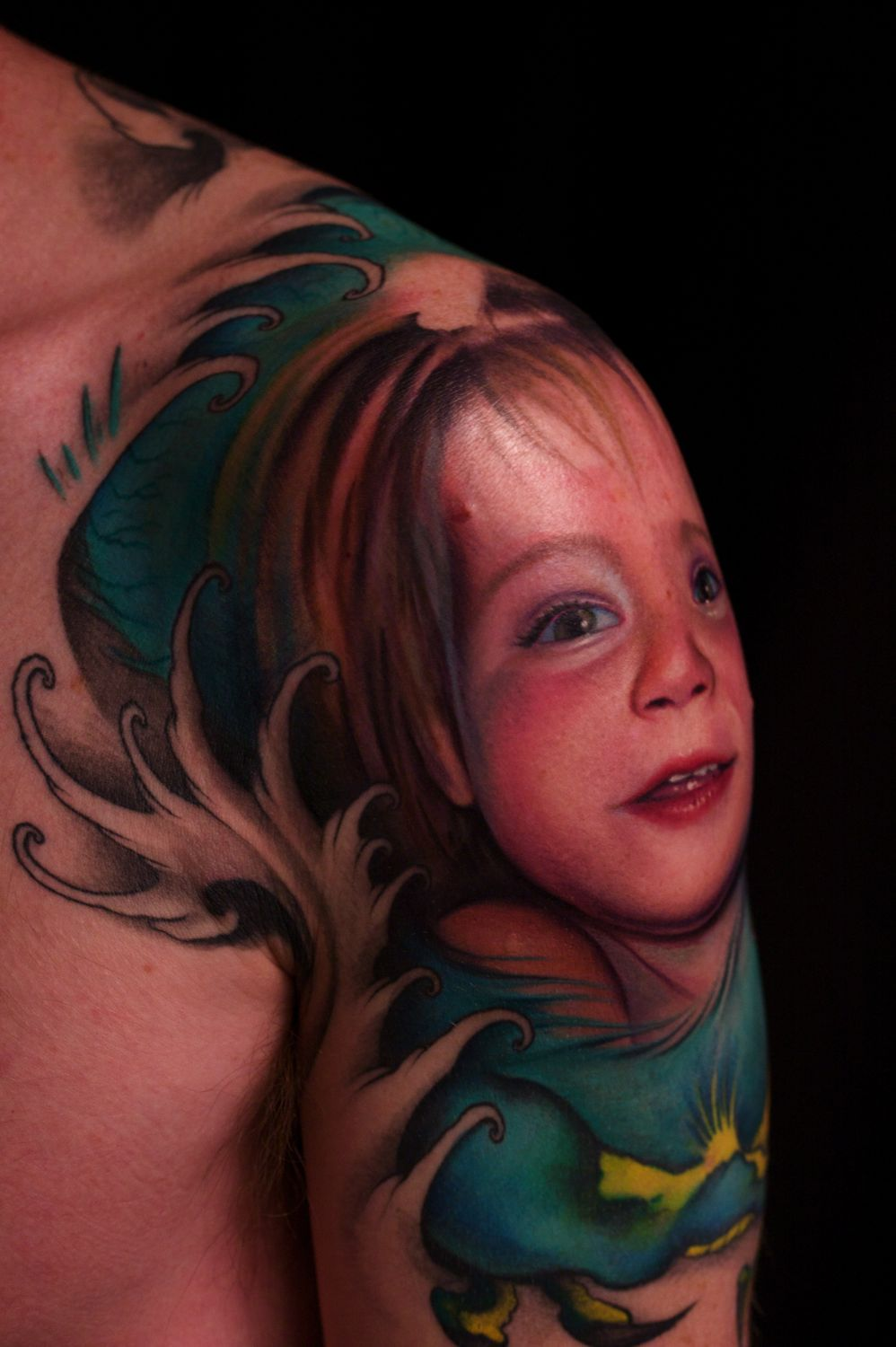 Portrait Sleeve Tattoo Designs: Leave Comment