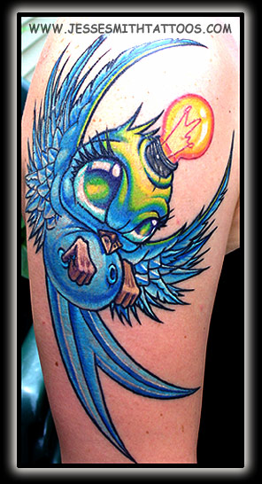 Tattoos · Page 1. Cassie's Stoopid Bird! Now viewing image 96 of 97 previous