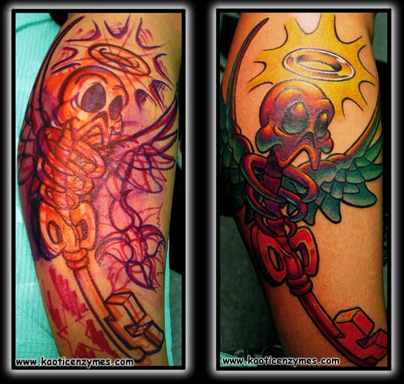 Keyword Galleries: Color Tattoos, Original Art Tattoos, New School Tattoos,