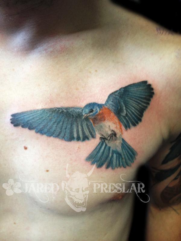 tattoos page 19 blue bird now viewing image 181 of 223 previous nextWatercolor Flying Bird Tattoo