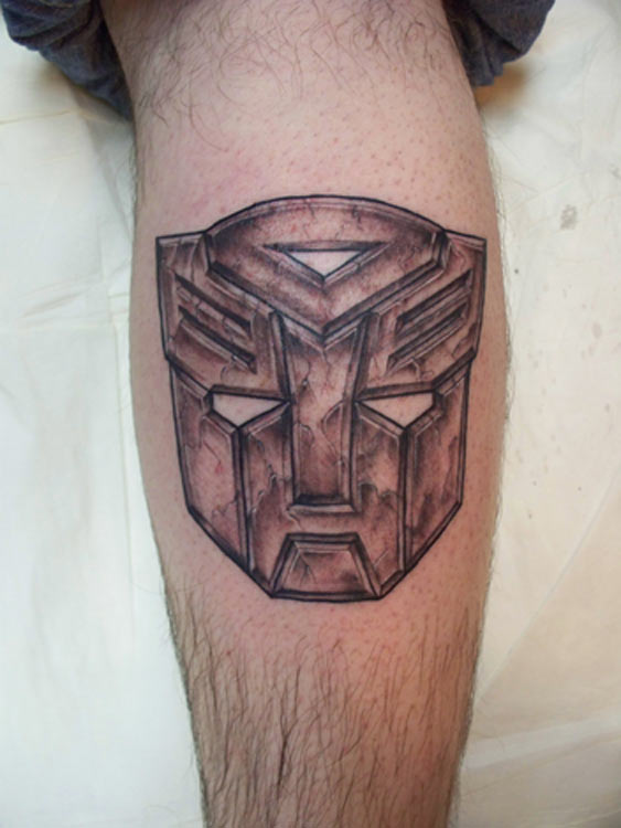 stone autobot tattoos. Black Bedroom Furniture Sets. Home Design Ideas