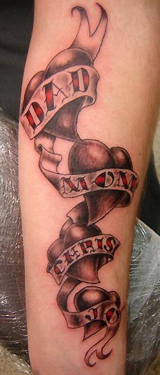 Tattoos Of Hearts For Men. Lower Back Tattoo Hearts. the