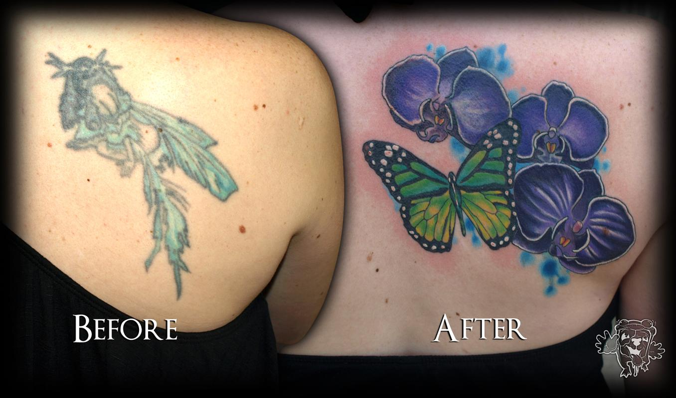 Cover Up Tattoos - Tattoo Artists.org
