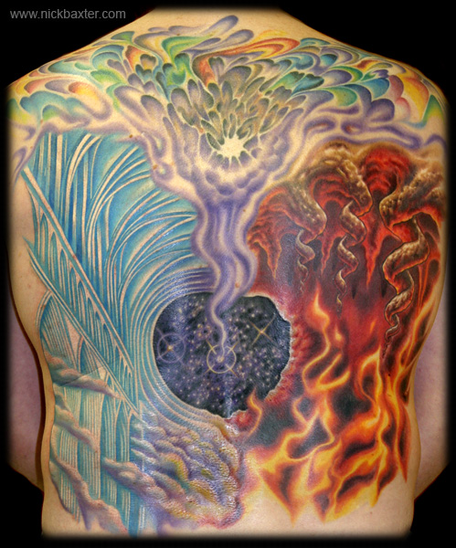 gerry 39 s heaven and hell by nick baxter tattoos. Black Bedroom Furniture Sets. Home Design Ideas