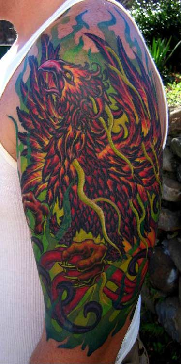 pheonix tattoo. Pheonix Tattoo