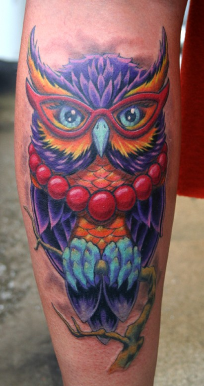 tattoo owl. Phil Young - Owl