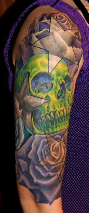 ... tattoos black and gray tattoos flower tattoos skull tattoos custom