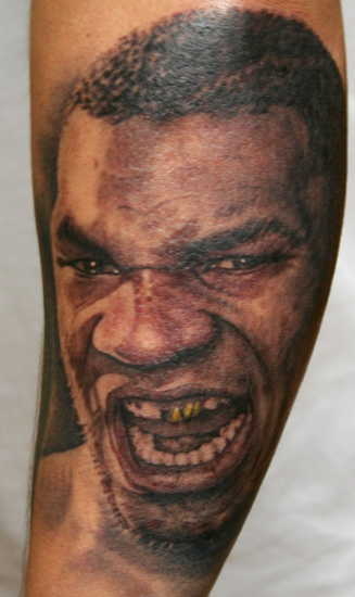 0a268be872f04 Phil Young @ Hope Gallery : Tattoos : Realistic : Mike Tyson portrait