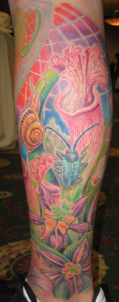 trippy tattoos. Dee Dee - trippy nature