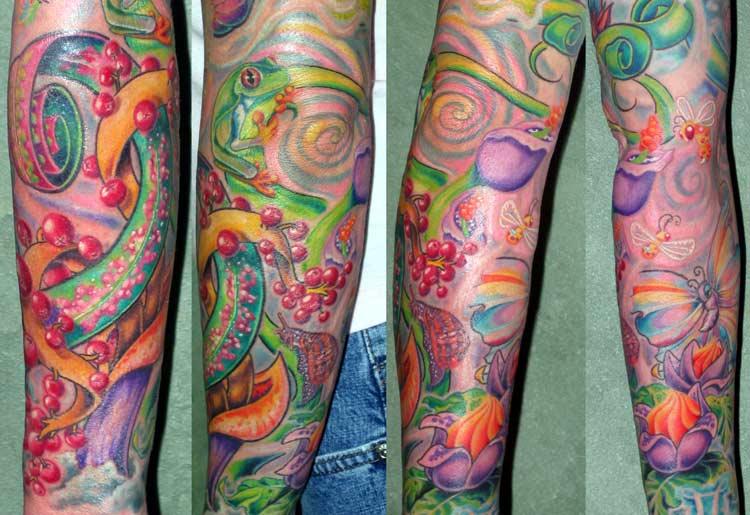 Trippy Tattoo Designs