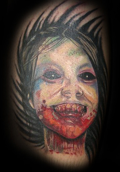 Tattoos · Page 1. Zombie Girl. Now viewing image 118 of 121 previous next