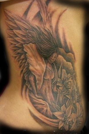 Keyword Galleries: Black and Gray Tattoos, Religious Tattoos,