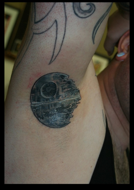 Hays' Star Wars tattoo design, and will be limited to just 600 pieces.
