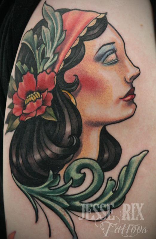 gypsy tattoo. gypsy tattoo