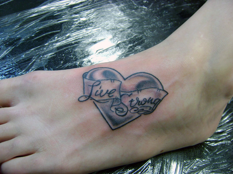 Tattoos · Mark Manley. Heart on Foot. Now viewing image 29 of 31 previous