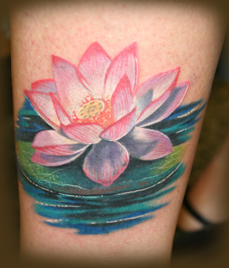 flower tattoo colors. Tattoos. Tattoos Color