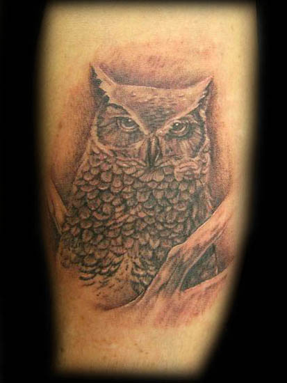 Labels: Owl Tattoos