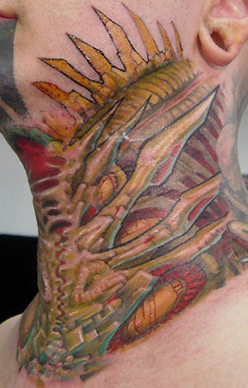 Keyword Galleries Color Tattoos BioOrganic Tattoos Custom Tattoos