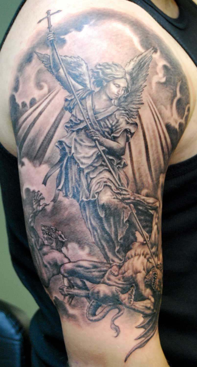 st michael tattoo jpg archangel tattoo is one of st