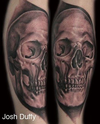 josh duffy skull tattoo