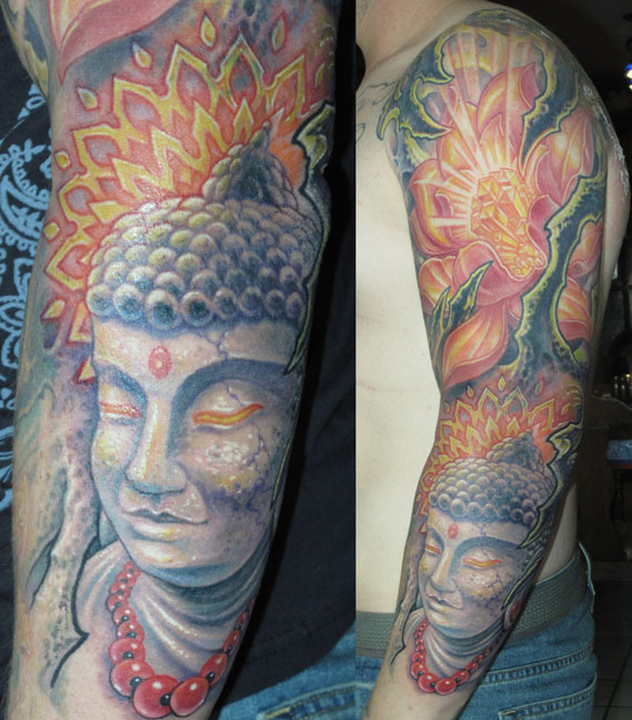 Juan Salgado Sleeve Tattoo