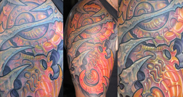 coverup half sleeve tattoo