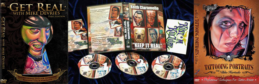 realism tattoo dvds