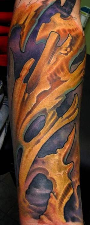 arm sleeve tattoo. Bio arm sleeve tattoo