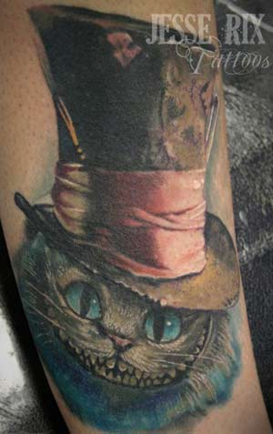 Tattoo Inspiration – Worlds Best Tattoos: Cheshire Cat Tattoo