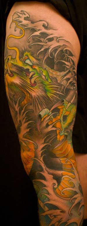 Jeff Gogue Tree Cross Tattoos