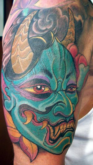 hanya tattoo. Color Hanya Tattoo