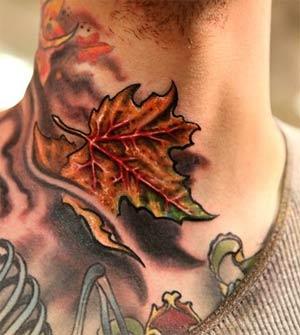 Tattoo Inspiration - Worlds Best Tattoos :Maple Leaf Tattoo: