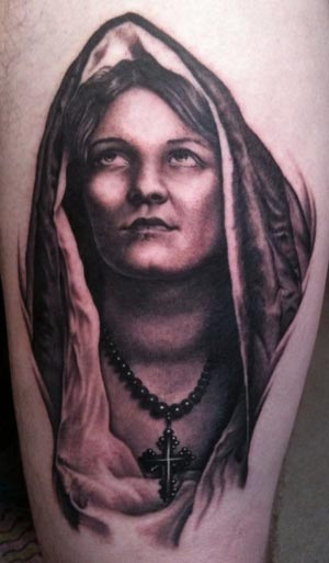 Virgin Mary Tattoo. virgin mary tattoo. Posted by tukin at 7:55 AM
