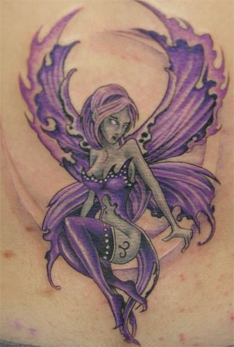 fairy tattoos tattoo design your own unique and magical fairy. Black Bedroom Furniture Sets. Home Design Ideas