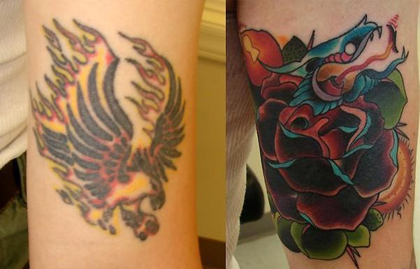 stock photo : tattoo guns and