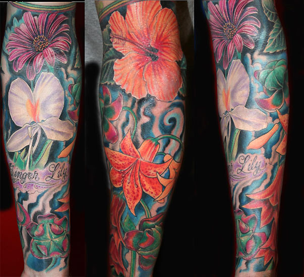 sleeves tattoo. 2010 tattoo sleeve art. tattoo