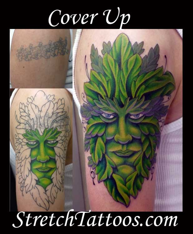Advanced Search greenman tattoo