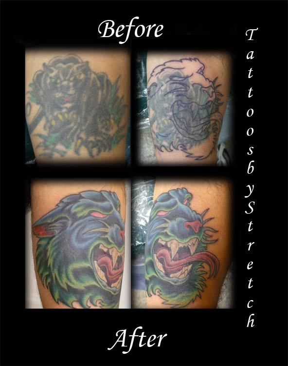 panther tattoo images
