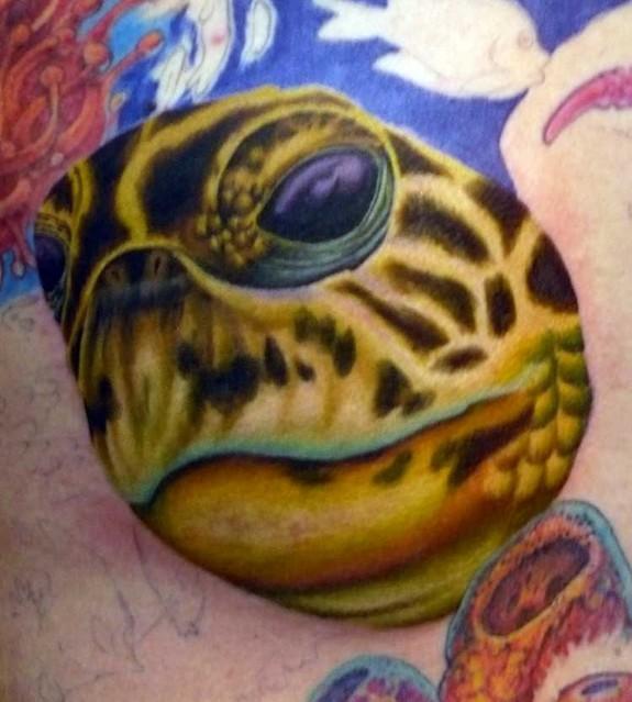 Tattoo Sea Turtle