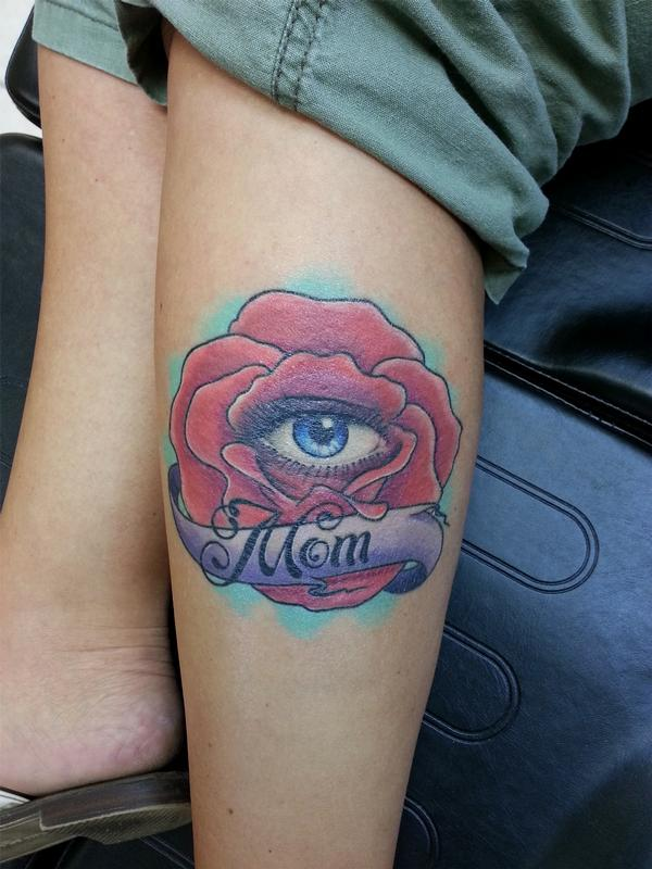 Eye In A Rose Tattoo: Altered Images : Tattoos : Traditional Old School : All