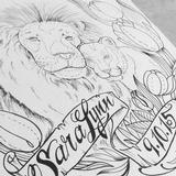 Lion's Pride Original Artwork Thumbnail